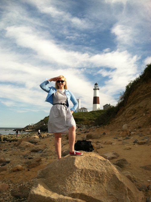 me at the montauk lighthouse