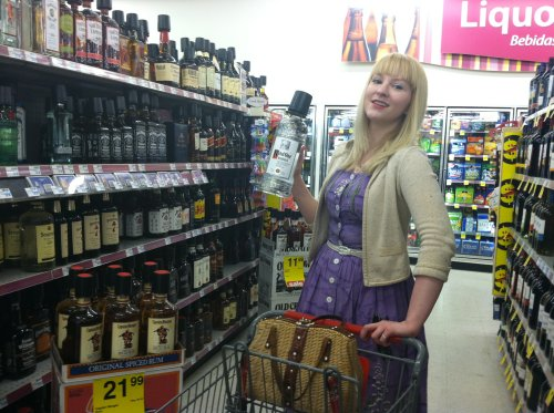 being able to buy liquor at Target, CVS, everywhere