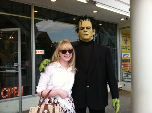 finally met Frankenstein's monster after all these years